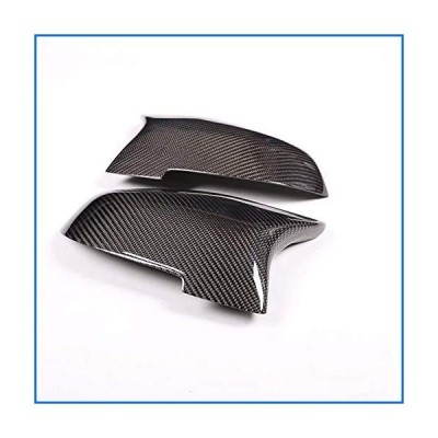 Exterior Auto Vehicle Accessory, for BMW F20 F22 F30 F31 GT F34 F32 F33 X1 E84 LHD, Carbon Fiber Replacement Side Rearview Mirror Cap Cover