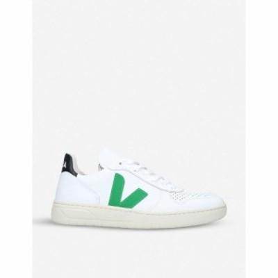 ヴェジャ VEJA レディース スニーカー シューズ・靴 V-10 coated-cotton trainers WHITE/OTH