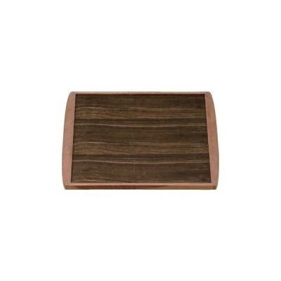 木製銘木敷角トレーマット 黒檀 尺1