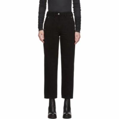 ルメール Lemaire レディース ジーンズ・デニム ボトムス・パンツ black twisted jeans Black