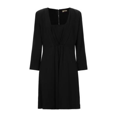 リュー ジョー LIU •JO ミニワンピース&ドレス ブラック 44 レーヨン 96% / ポリウレタン 4% ミニワンピース&ドレス
