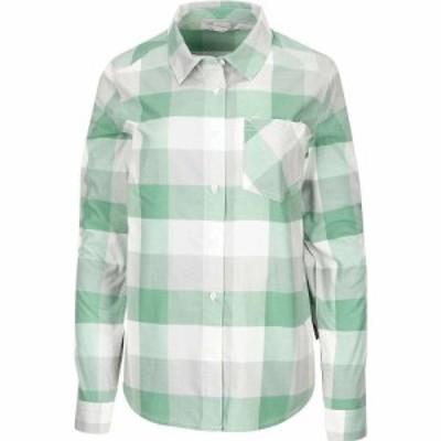 シムス Simms レディース ブラウス・シャツ フランネルシャツ トップス Sunset Flannel LS Shirt Seafoam Buffalo Plaid
