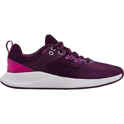 アンダーアーマー Under Armour レディース ランニング・ウォーキング シューズ・靴 Charged Breathe TR 3 Training Shoes Purple/Grey
