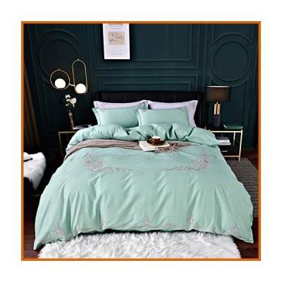 送料無料 ヨーロッパスタイル ピュアコットン 寝具セット,4 Pc 寝具 ふとんカバー ジッパー付き,ふとん