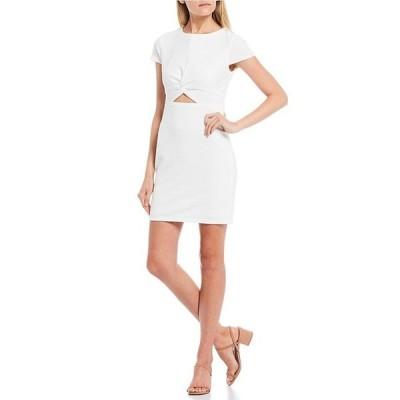 ビーダーリン レディース ワンピース トップス Cap Sleeve Cut-Out-Waist Sheath Dress