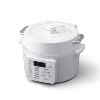 アイリスオーヤマ IRIS PC-MA2-W 電気圧力鍋 2.2L PCMA2W ホワイト ナベ 電気鍋 調理家電 手軽 簡単