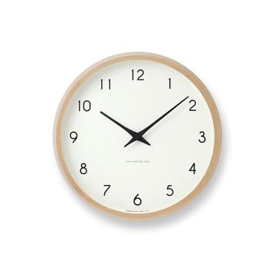 レムノスカンパーニュ電波時計  (PC10-24W Lemnos Campagne 掛け時計 電波時計 インテリア 北欧雑貨 オブジェ グッドデザイン賞 タカタレムノス)
