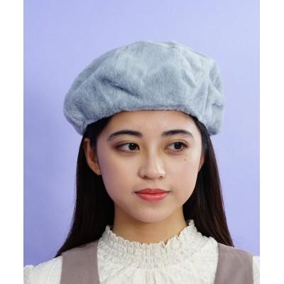 SAC / MIXエコファーベレー WOMEN 帽子 > ハンチング/ベレー帽