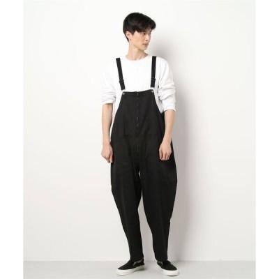サロペット オーバーオール 【BURNER SELECT】ツイルオーバーオール