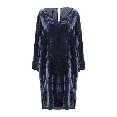マニラ グレース MANILA GRACE ミニワンピース&ドレス ダークブルー 42 レーヨン 75% / ナイロン 25% ミニワンピース&ドレス