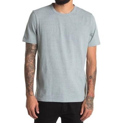 セオリー メンズ Tシャツ トップス Essential Feeder T-Shirt ALOE MULTI
