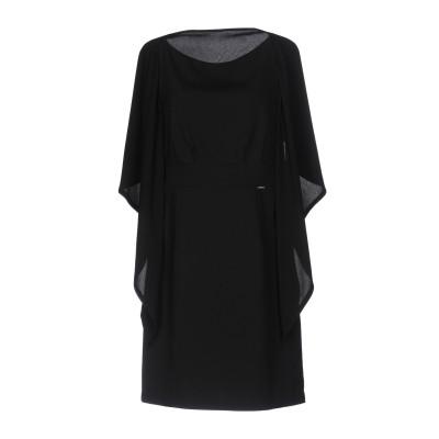 アンナリータ エンネ ANNARITA N ミニワンピース&ドレス ブラック 40 ポリエステル 95% / ポリウレタン 5% ミニワンピース&ド