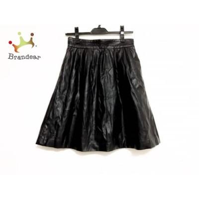 グーコミューン GOUT COMMUN スカート サイズ38 M レディース 黒  スペシャル特価 20210313