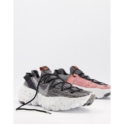 ナイキ メンズ スニーカー シューズ Nike Space Hippie 04 Flyknit sneakers in gray Grey