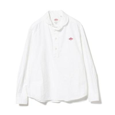 【ビームス ウィメン】 DANTON / OX プルオーバーシャツ レディース ホワイト 36 BEAMS WOMEN