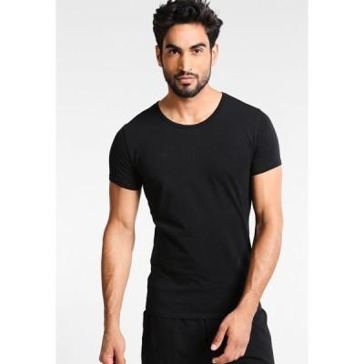 トミー ヒルフィガー タンクトップ メンズ アンダーウェア 3 PACK - Undershirt - black