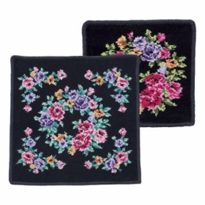 日本製シェニール織 タオルハンカチ×ミニタオルハンカチセット (CNT04538B)
