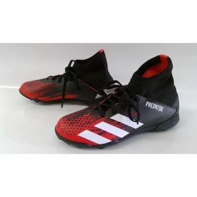 処分 adidasアディダス ジュニアサッカートレーニングシューズ PREDATOR 20.3 TF J EF1950 ブラック×レッド×ホワイト 22898