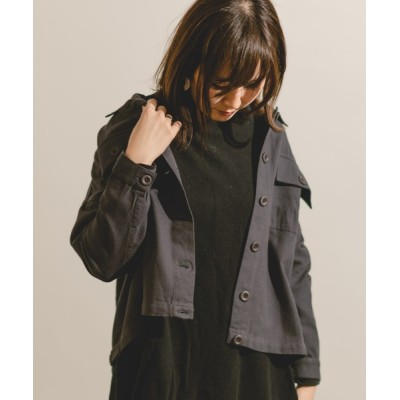 itowa tokyo&wordtrobe / 【wordtrobe】キャンバスCPOシャツジャケット WOMEN ジャケット/アウター > ミリタリージャケット