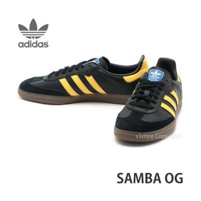 アディダス サンバ オージー adidas SAMBA OG スニーカー メンズ シューズ 靴 サッカー ストリート カラー:ブラック/イエロー/ブルー