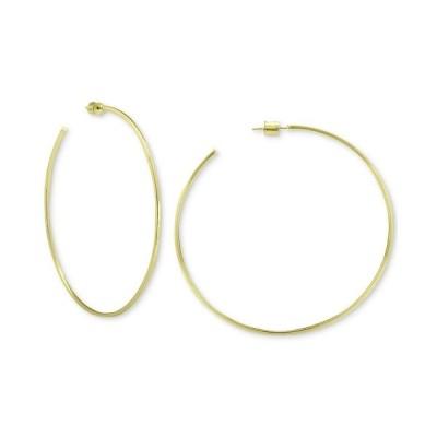 ジャニ ベルニーニ ピアス&イヤリング アクセサリー レディース Circle Hoop Earrings in 18k Gold Over Sterling Silver Gold