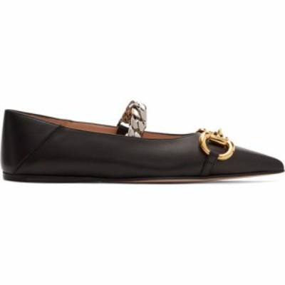 グッチ Gucci レディース スリッポン・フラット シューズ・靴 Black Horsebit Ballet Flats Black