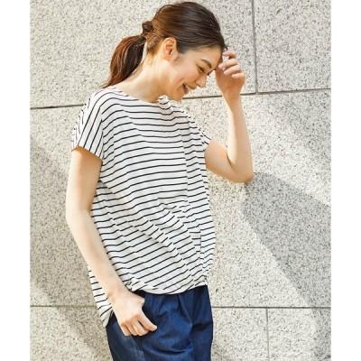 tシャツ Tシャツ 裾タックプルオーバー