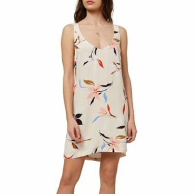 オニール ONeill レディース ワンピース タンクドレス ワンピース・ドレス Phan Floral Tank Dress Vanilla Cream