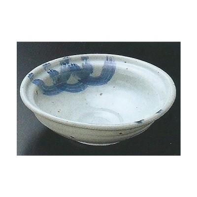 和食器07412-257 まじわり藍4.8煮物鉢 /16×4.5cm 料理道具・魚料理・刺身皿・光