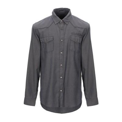 ゲス GUESS シャツ スチールグレー XS コットン 100% シャツ