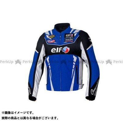 【無料雑誌付き】elf riding wear 2020-2021秋冬モデル EJ-W109 ヴィットリアスポルトジャケット(ブルー) サイズ:S …