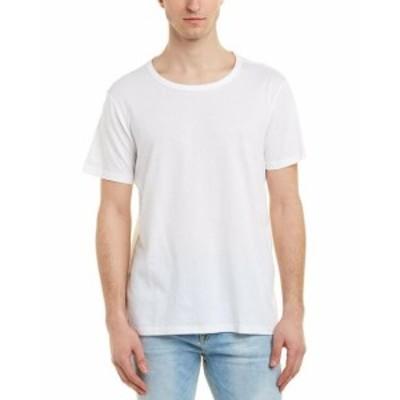 ファッション トップス Solid & Striped Solid T-Shirt