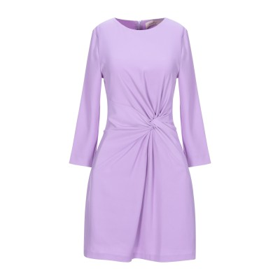 TWENTY EASY by KAOS ミニワンピース&ドレス ライラック 40 ポリエステル 97% / ポリウレタン 3% ミニワンピース&ドレス