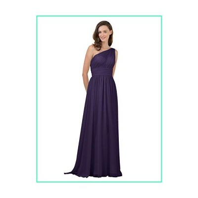 Alicepub One Shoulder Plus Size Bridesmaid Dress for Women Long Evening Party Gown Maxi, Regency, US20並行輸入品