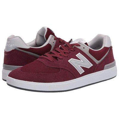 New Balance Numeric AM574 メンズ スニーカー 靴 シューズ Burgundy/Grey