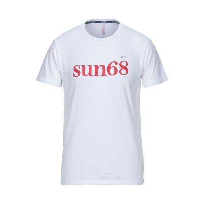 サンシックスティエイト SUN 68 T シャツ ホワイト L コットン 100% T シャツ