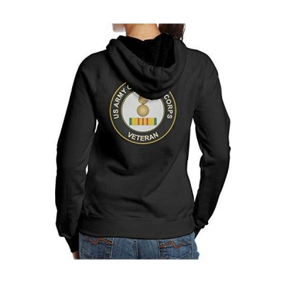 Us Army Veteran Ordnance Corps Woman Hoodie Fashion Sweatシャツ Casual Sweat