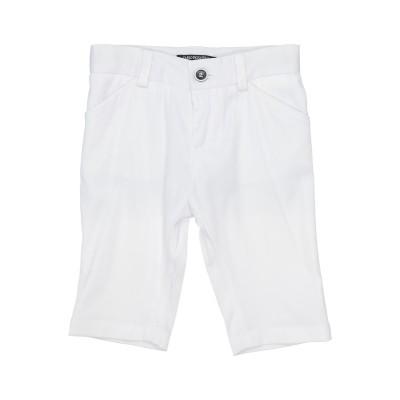 CARLO PIGNATELLI パンツ ホワイト 6 ポリエステル 57% / コットン 40% / ポリウレタン 3% パンツ