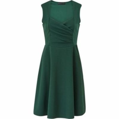メラ ロンドン Mela London レディース ワンピース スケータードレス ラップドレス ワンピース・ドレス Green Wrap Skater Dress Green