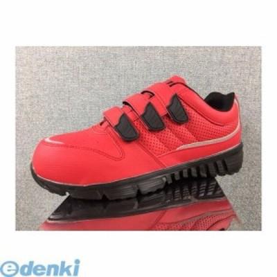 GDJAPAN[4589969285131] GD-970 安全靴 スニーカー レッド マジックタイプ 25.0