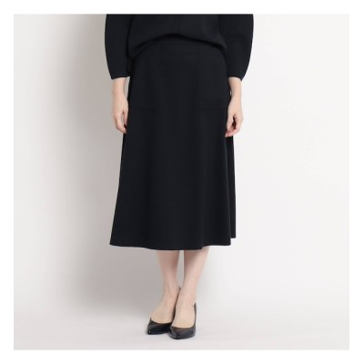 【スーナウーナ/SunaUna】 起毛カットツイルフレアスカート