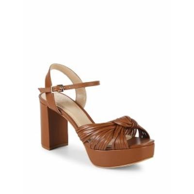 アレックス+アレックス レディース シューズ サンダル Knotted Leather Platform Sandals