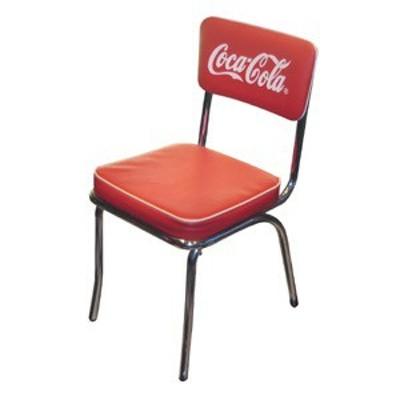 コカコーラ★アメリカン雑貨★Coca Cola コカ・コーラ Coke Chair PJ-105C ダイニングチェアー カフェチェアー チェアー イス-PJ0013