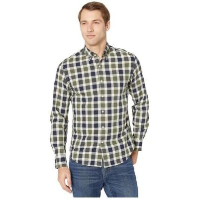 ジェイクルー メンズ シャツ トップス Slim Stretch Secret Wash Shirt In Organic Cotton Giant Gingham