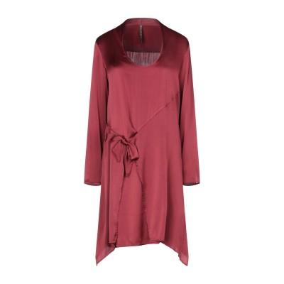 マニラ グレース MANILA GRACE ミニワンピース&ドレス ボルドー 46 93% シルク 7% ポリウレタン ミニワンピース&ドレス