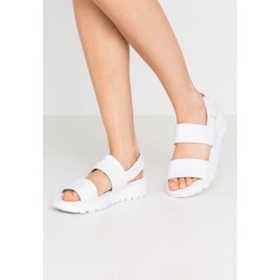 スケッチャーズ スポーツ レディース サンダル シューズ CALI - Sandals - white white