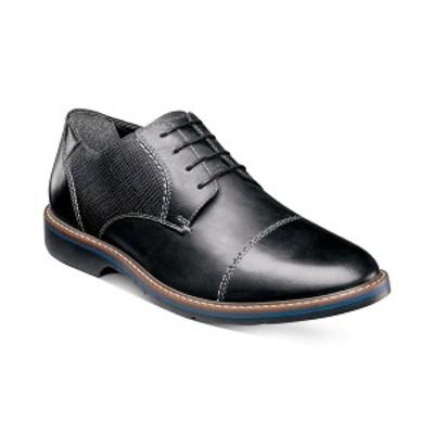 ノンブッシュ メンズ ドレスシューズ シューズ Men's Pasadena Cap-Toe Oxfords Black