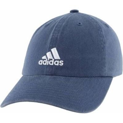 アディダス レディース 帽子 アクセサリー adidas Women's Saturday Hat Crew Navy
