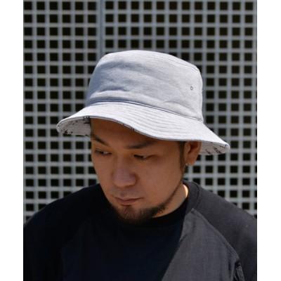 帽子 ハット CELEB スウェットリバーシブルバケットHAT