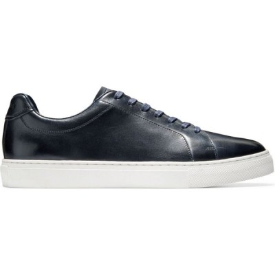 コールハーン Cole Haan メンズ スニーカー シューズ・靴 Grand Series Jensen Leather Low-Top Sneakers